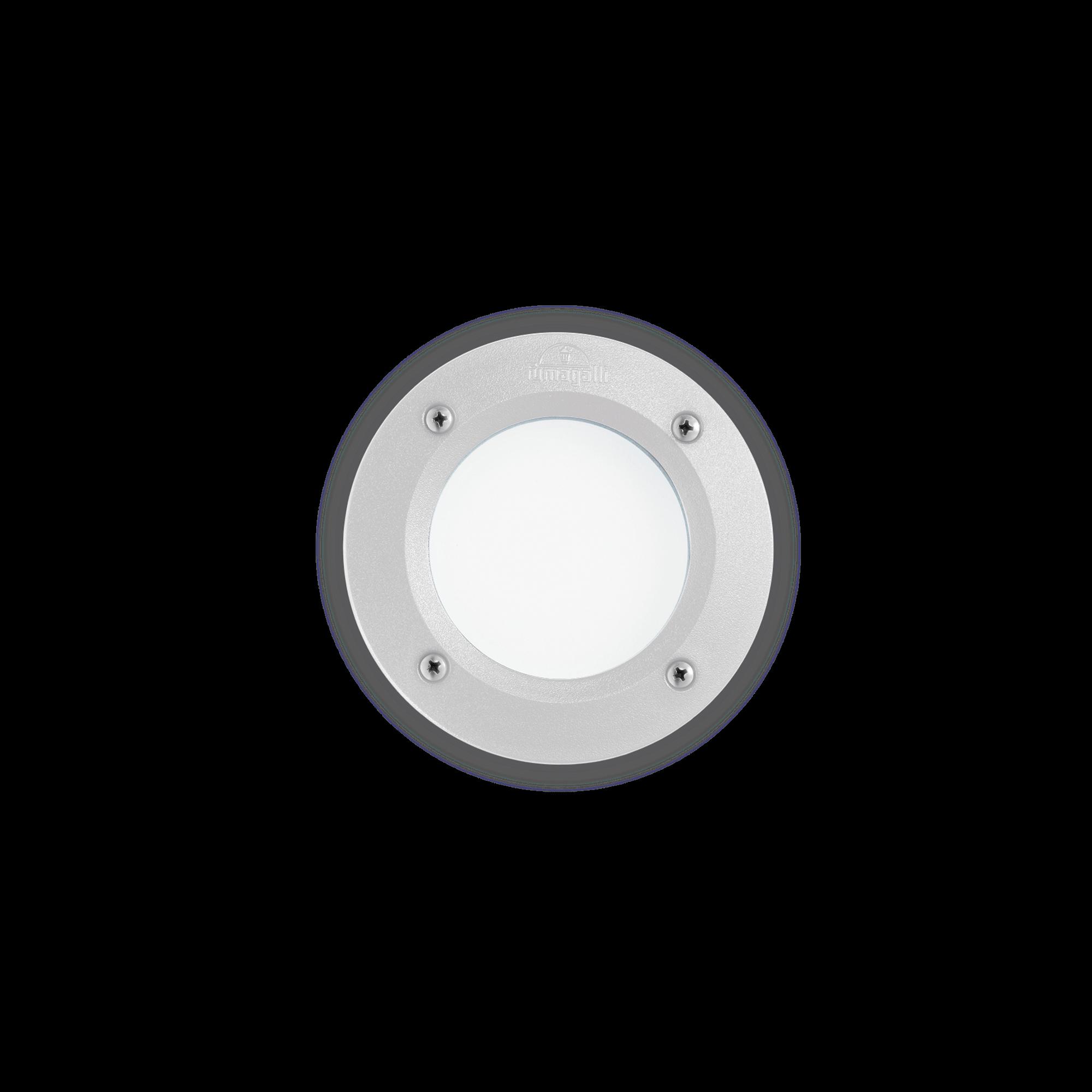 Exteriérové zápustné svítidlo Ideal lux 096544 LETI PT1 ROUND BIANCO 1xGX53 23W 4000K IP66