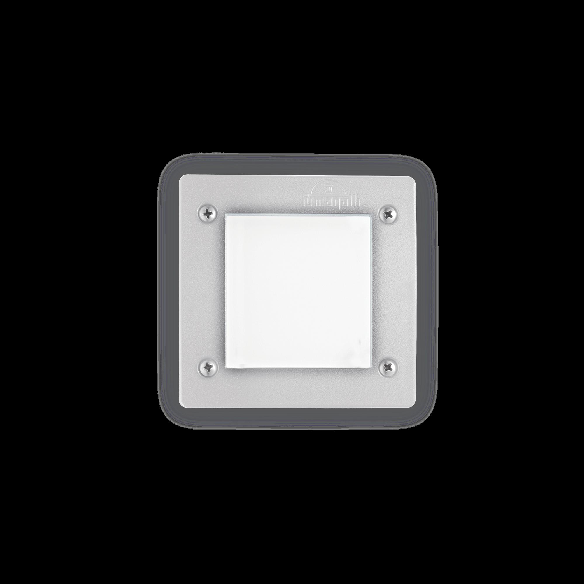 Exteriérové zápustné svítidlo Ideal lux 096575 LETI PT1 SQUARE BIANCO 1xGX53 23W 4000K IP66