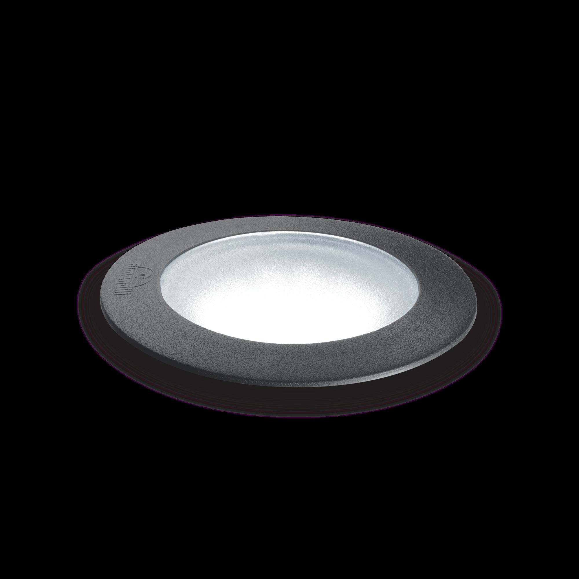 Exteriérové zápustné svítidlo Ideal lux 120249 CECI PT1 ROUND SMALL 1xGU10 6W 4000K IP67