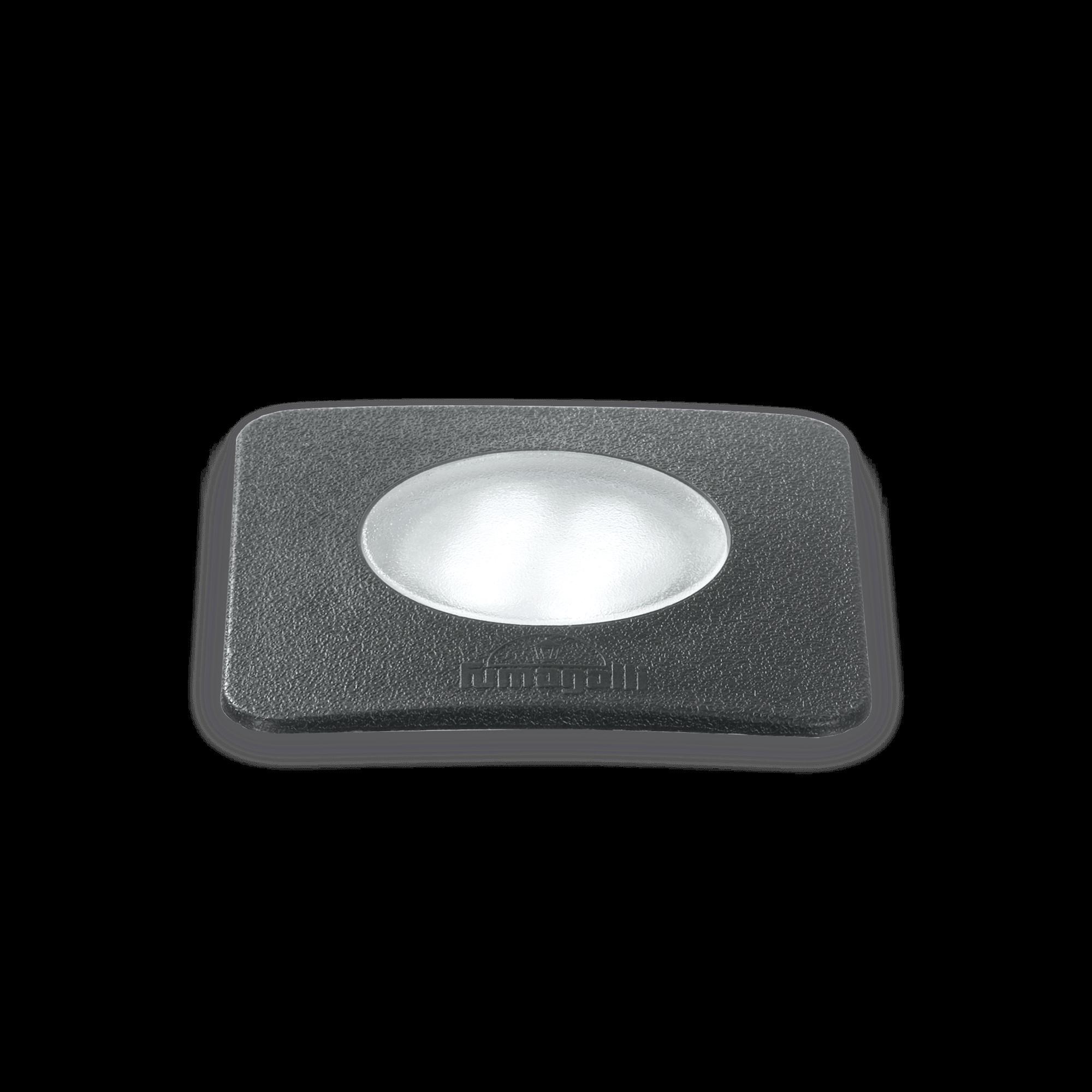Exteriérové zápustné svítidlo Ideal lux 120317 CECI PT1 SQUARE SMALL 1xGU10 6W 4000K IP67