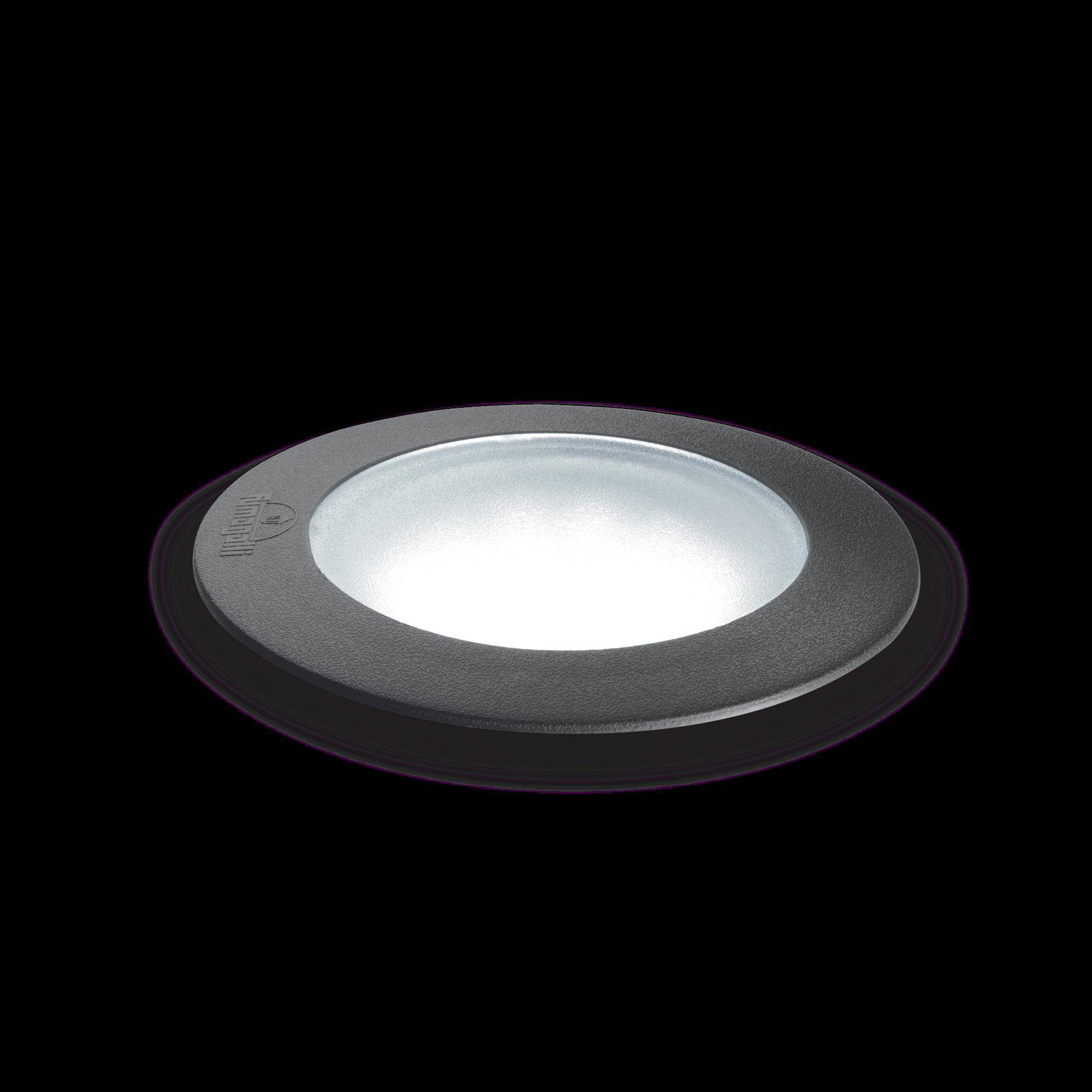 Exteriérové zápustné svítidlo Ideal lux 120324 CECI PT1 ROUND BIG 1xGX53 23W 4000K IP67