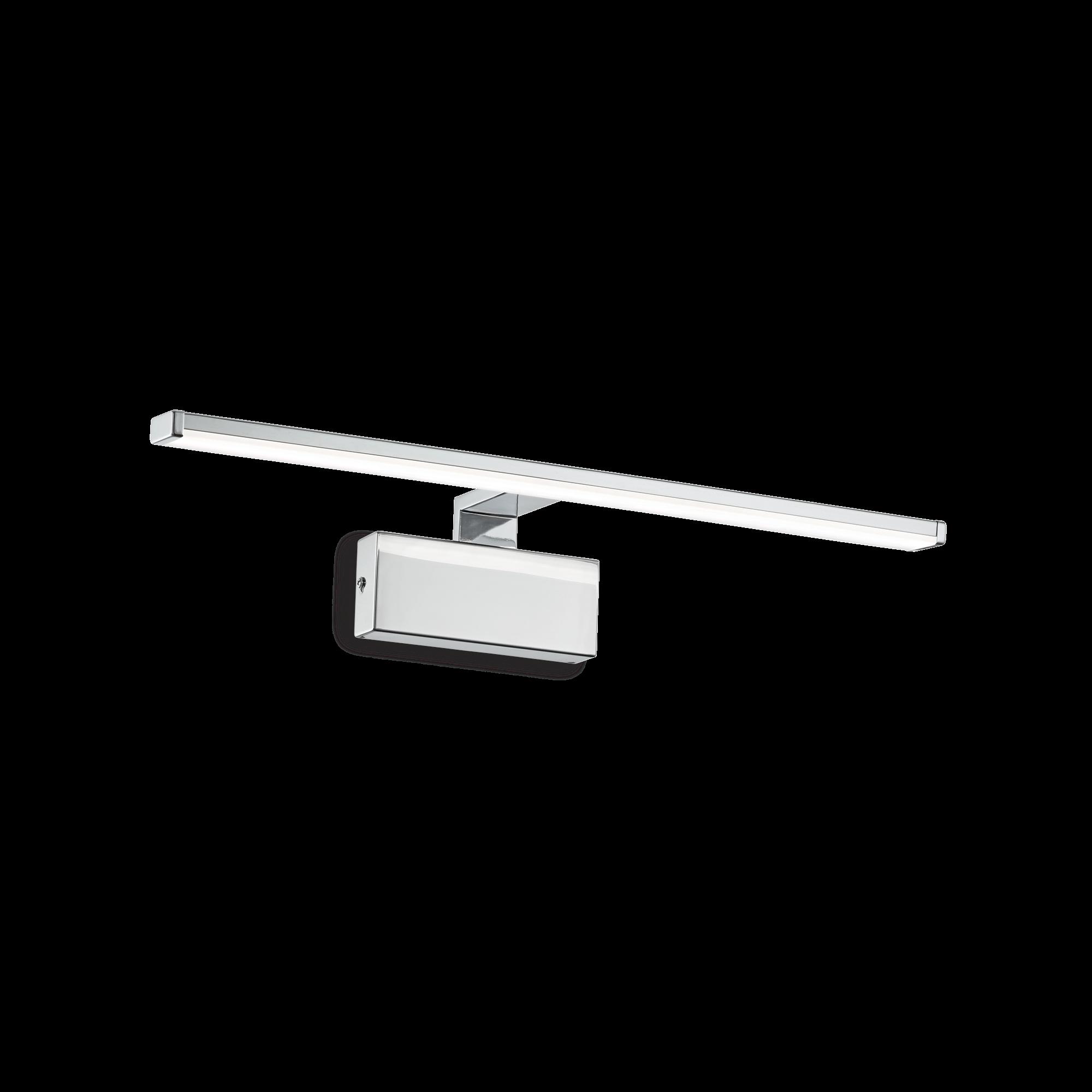 IdealLux 224930 ALMA AP nástěnné LED svítidlo k zrcadlu 12W 820lm 3000K IP20 chrom