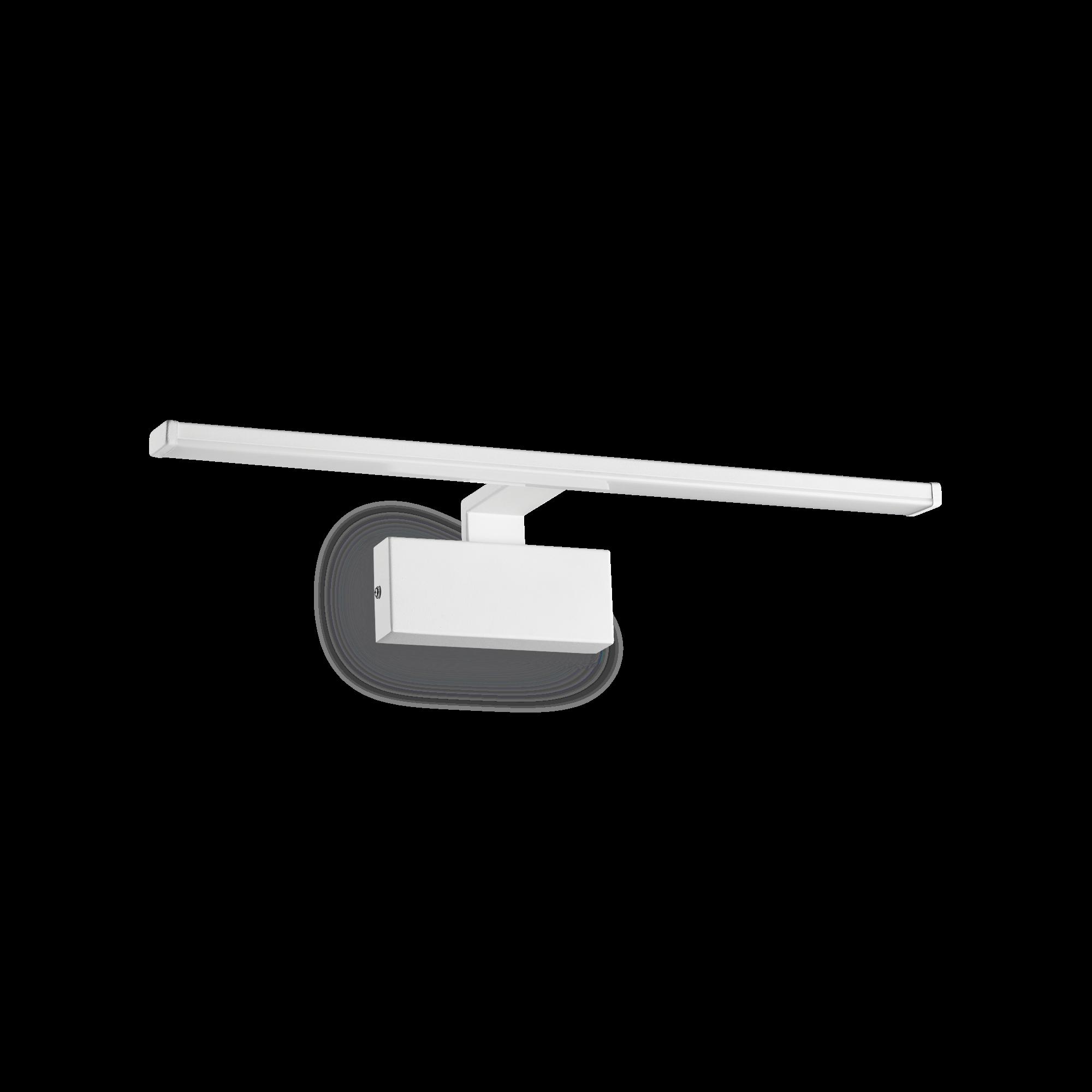 IdealLux 224985 ALMA AP nástěnné LED svítidlo k zrcadlu 12W 820lm 3000K IP20 bílá
