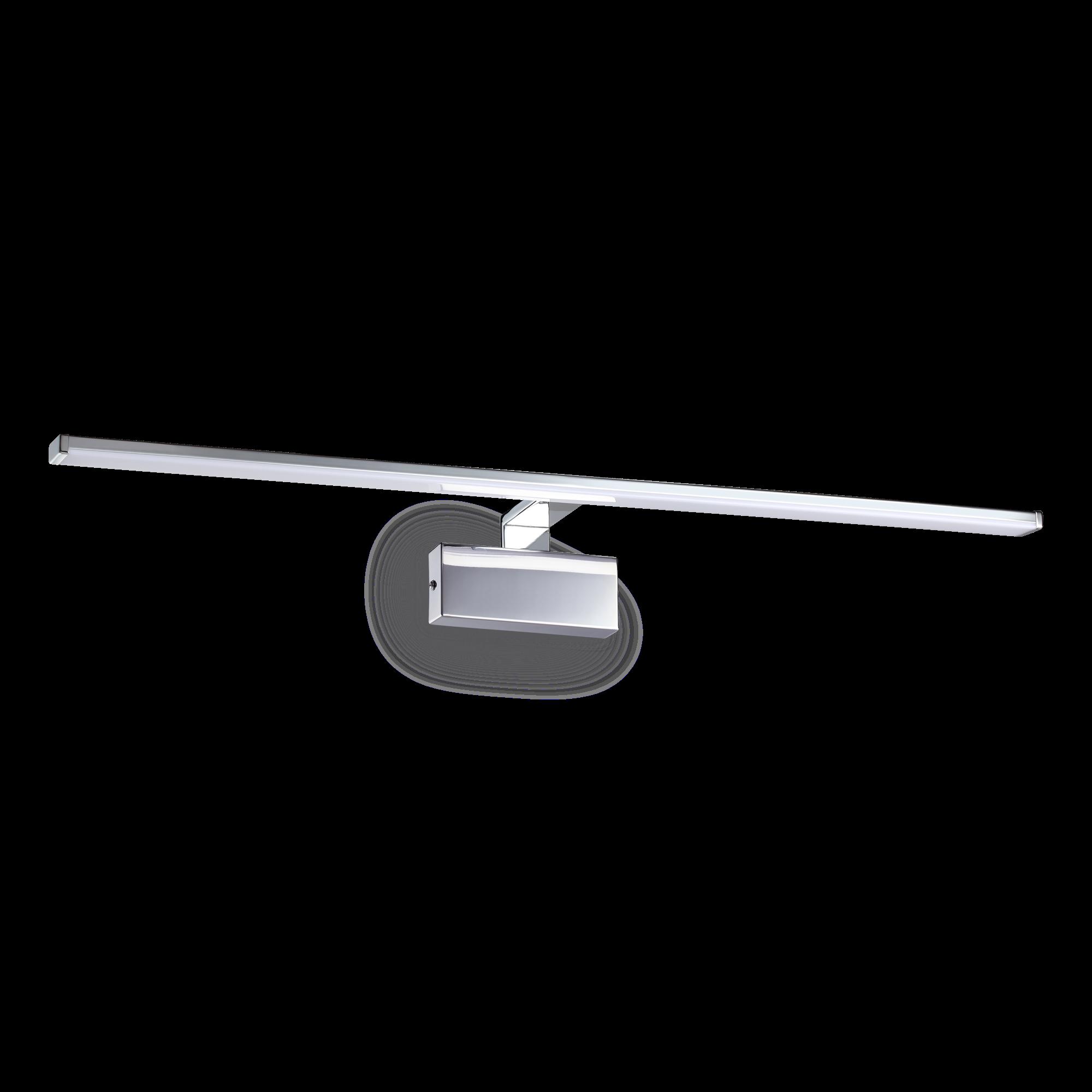 IdealLux 224992 ALMA AP nástěnné LED svítidlo k zrcadlu 20W 1300lm 3000K IP20 chrom