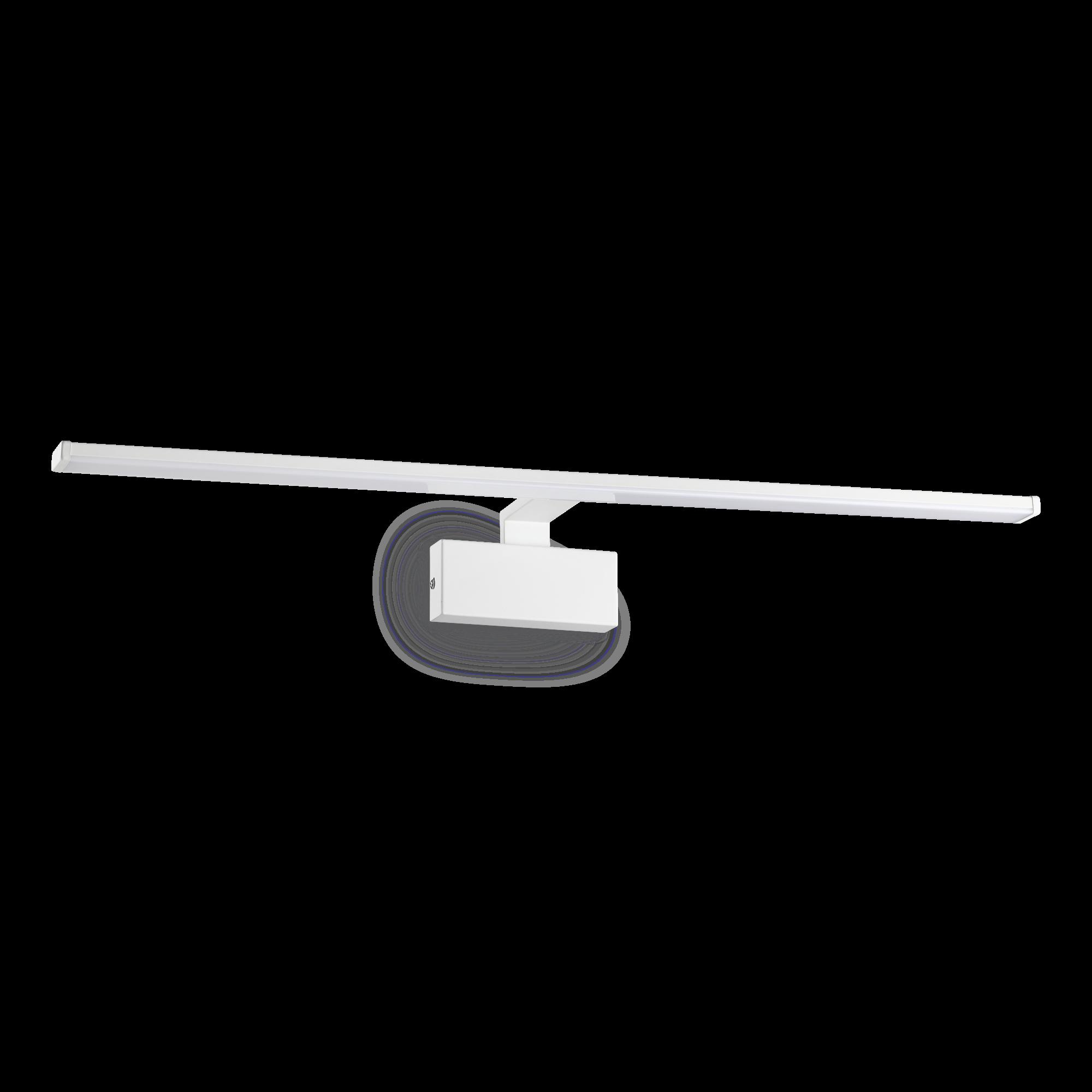 IdealLux 225029 ALMA AP nástěnné LED svítidlo k zrcadlu 20W 1300lm 3000K IP20 bílá