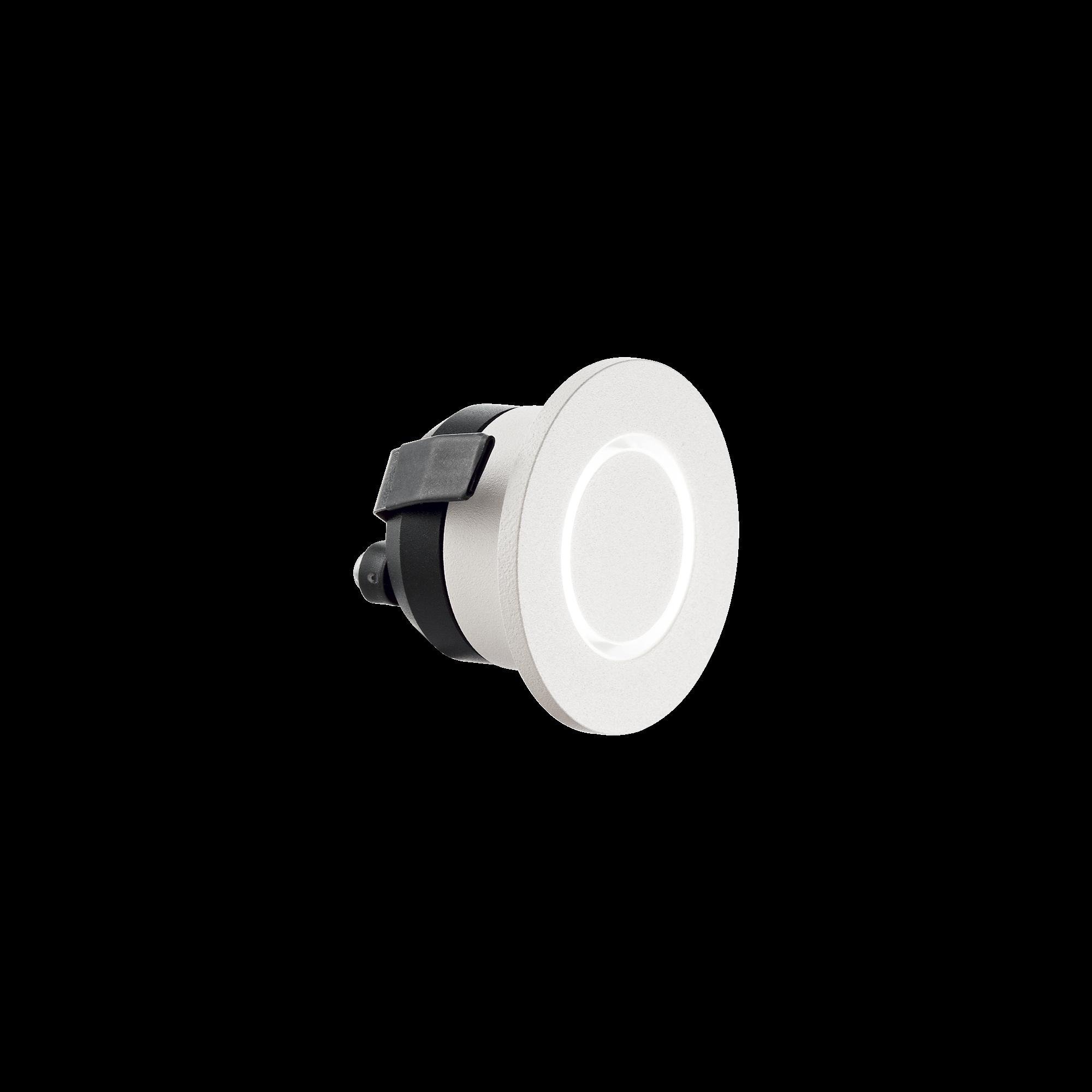 IdealLux 239705 O-LINE ROUND venkovní zápustné svítidlo 3W 60lm 3000K IP20 bílá
