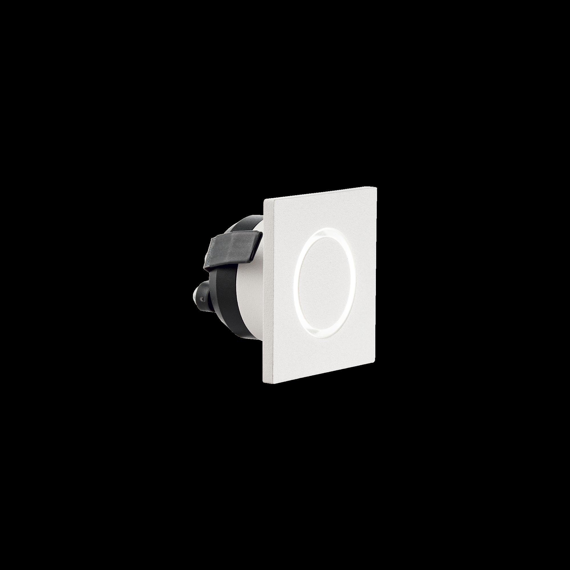 IdealLux 239811 O-LINE SQUARE venkovní zápustné svítidlo 3W 60lm 3000K IP20 bílá