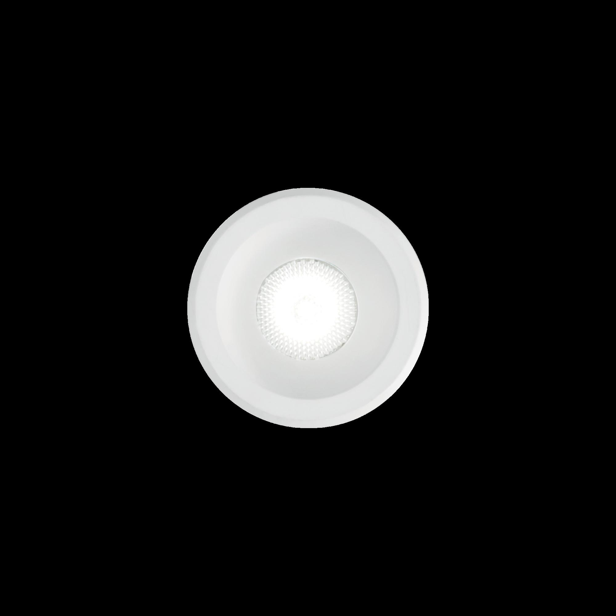 IdealLux 244853 VIRUS venkovní zápustné svítidlo 3W 210lm 3000K IP20 černá / zlatá