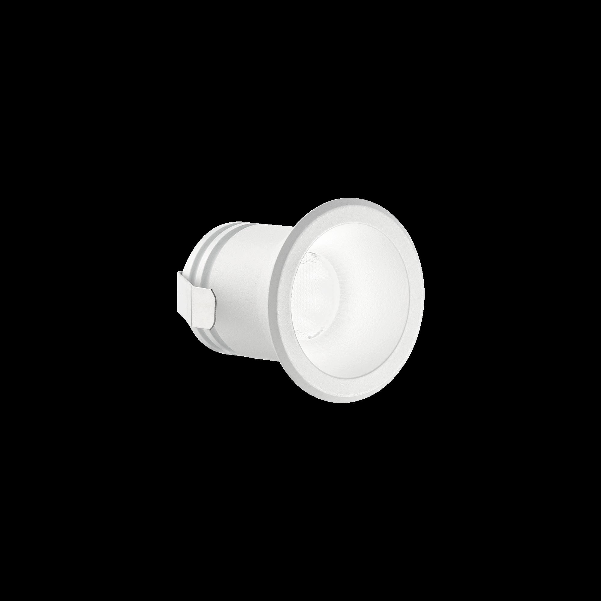 IdealLux 244808 VIRUS venkovní zápustné svítidlo 3W 210lm 3000K IP20 bílá