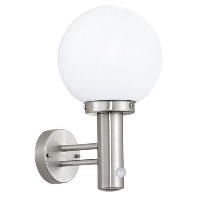 Eglo 27126 NISIA nástěnné exteriérové svítidlo se senzorem E27 1x60W