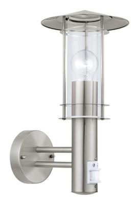Eglo 30185 LISIO nástěnné exteriérové svítidlo se senzorem E27 1x60W