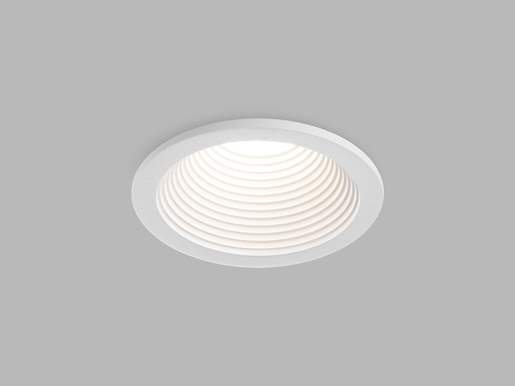 LED2 2111031 SPLASH, kulaté zápustné bodové svítidlo 82mm 7W / 525lm 3000K IP54 bílá