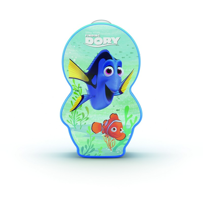 Philips 71767/35/P0 Disney Finding Dory LED baterka do ruky 2xAAA