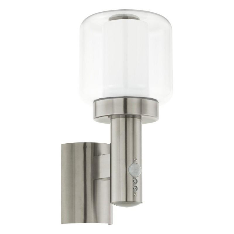 Eglo 95017 POLIENTO nástěnné exteriérové svítidlo se senzorem 1xE27 IP44