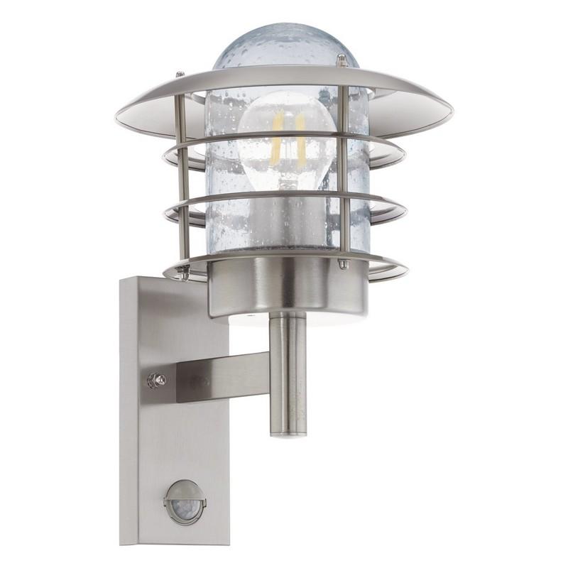 Eglo 96402 MOUNA nástěnné exteriérové svítidlo se senzorem 1xE27 IP44