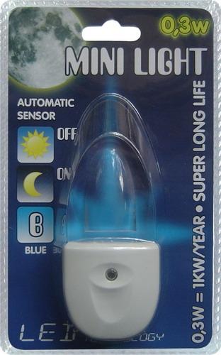 Prezent 1611 Mini Light LED orientační osvětlení do zásuvky