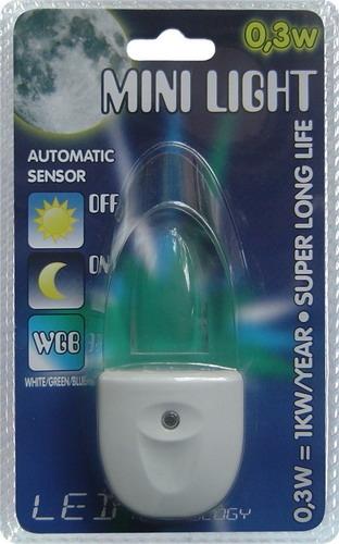 Prezent 1613 Mini Light LED orientační osvětlení do zásuvky