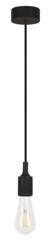 Rabalux 1412 ROXY závěs fix 1xE27 černý
