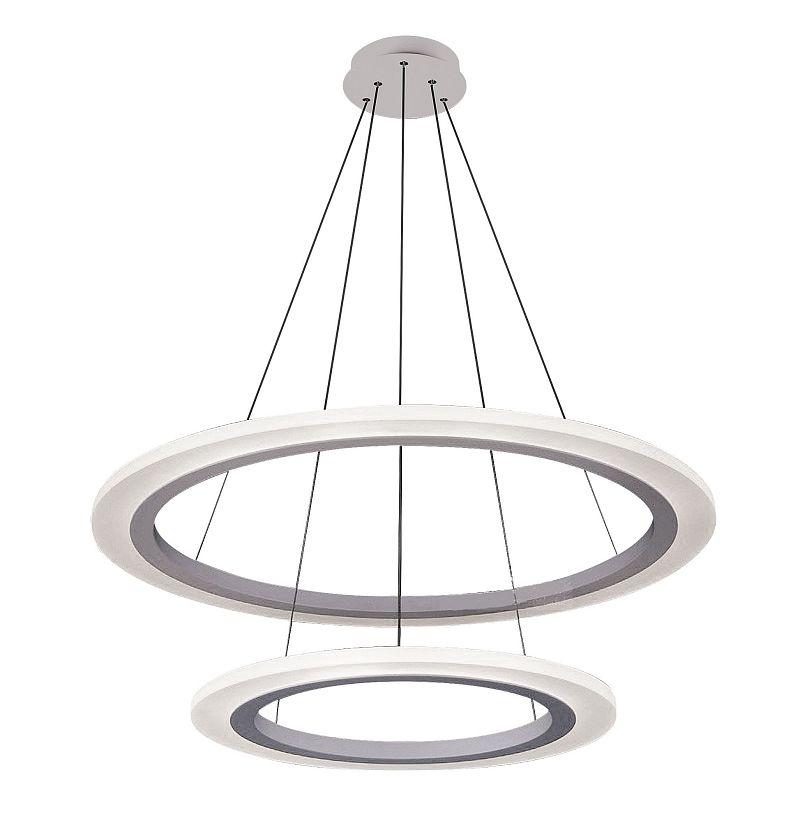 RABALUX 2429 Adrienne závěsné svítidlo LED 62W stříbrná