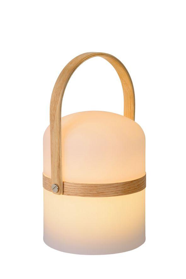 LUCIDE 06800/03/31 JOE LED stolní svítidlo na baterie 3W=278lm 2800-3200K IP44