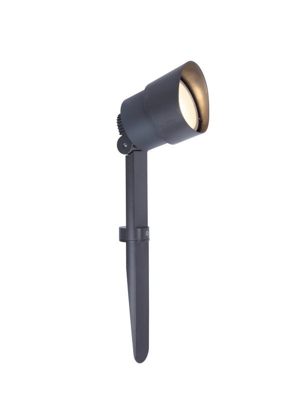 LUTEC 6609201118 EXPLORER zahradní LED reflektor do země 5W 3000lm IP54 tmavá šedá