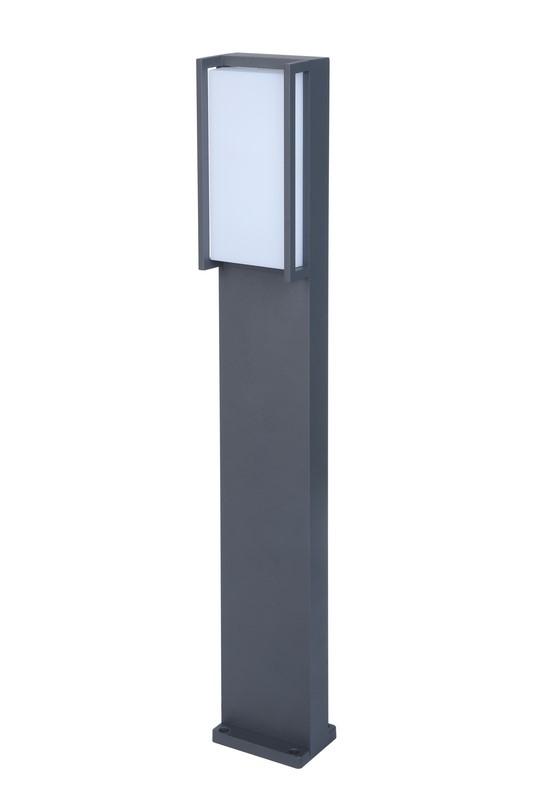 LUTEC 7193001118 QUBO zahradní LED sloupek 18W 3000lm IP54 tmavá šedá