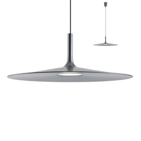 Redo 01-1617 KAI SU LED 12W D550 interiérové závěsné svítidlo černý kov 840lm