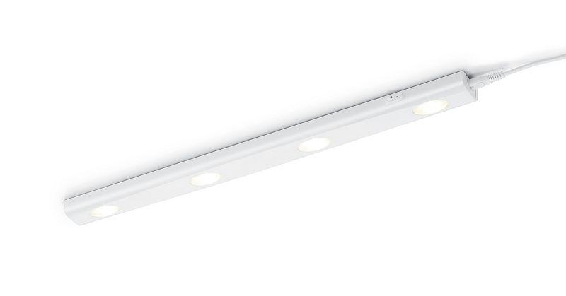 TRIO 273170401 Aragon svítidlo pod kuchyňskou linku LED 4x1W 80lm 3000K