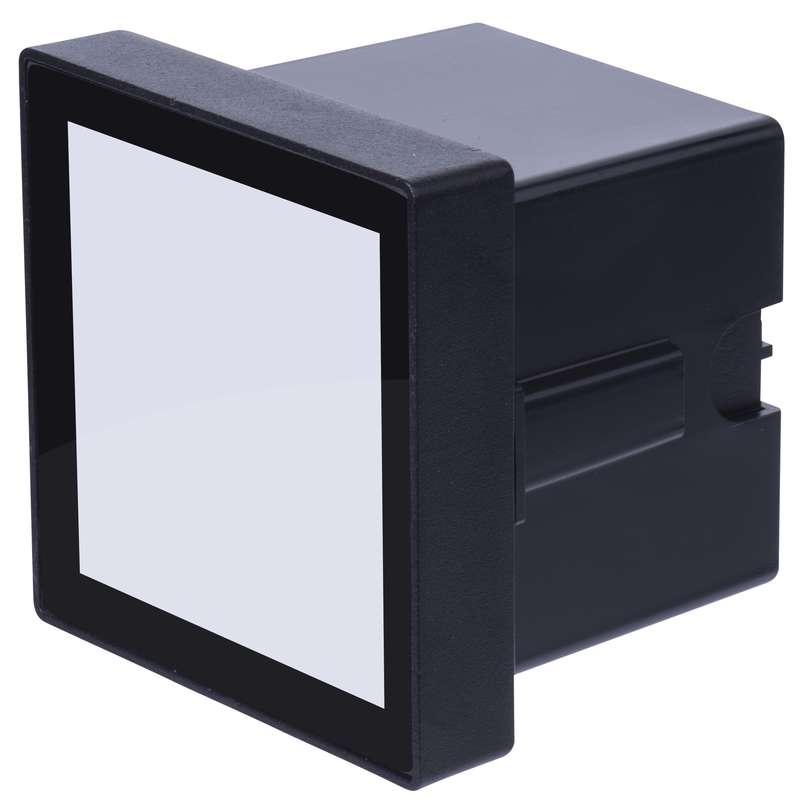 ZC0101 EMOS LED orientační svítidlo, čtverec 3,5W neutrální bílá IP54 antracit
