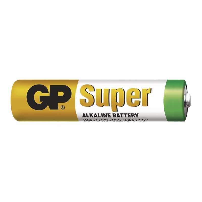 B1310 Baterie GP SUPER alkalická mikrotužková LR03 AAA