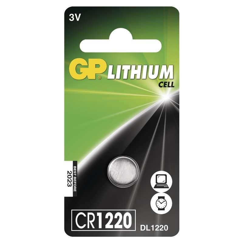 B1520 Baterie GP lithiová knoflíková CR1220