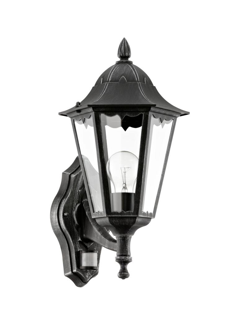 EGLO 93458 NAVEDO exteriérové nástěnné svítidlo se senzorem E27 1x60W