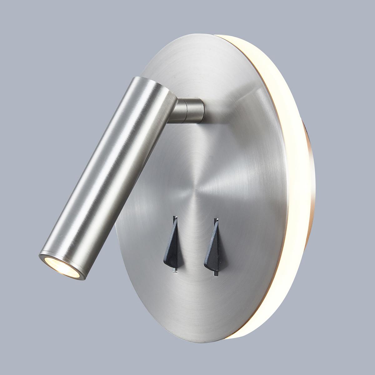SP.7348-02A-S-NICK ITALUX Nemo moderní lampička 9W LED bílé světlo (3200K) IP20