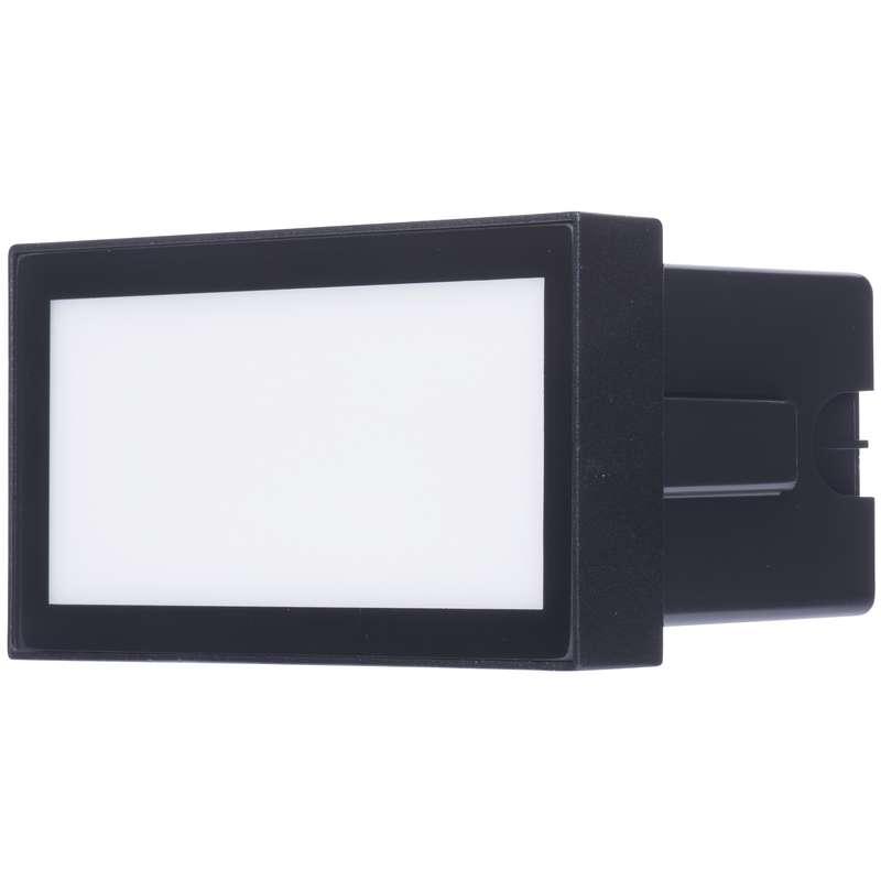 ZC0102 EMOS LED orientační svítidlo, obdélník 4W neutrální bílá IP54 antracit